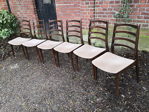 6 Casala Stühle Stuhl mid century 50er 60er Jahre Vintage Dining Chair