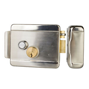 Electric Look Door Access Key Button Entry Gate Open Security Stainless Steel