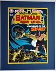 DETECTIVE COMICS #400 COVER PRINT Professionally Matted DC Manbat