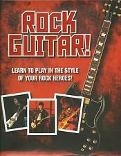 Learn how to Play Rock Guitar Electric Acoustic Lessons Book  NEW FAST POST