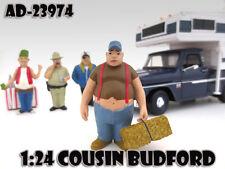 "COUSIN BUDFORD ""TRAILER PARK"" FIGURE 1:24 SCALE MODELS AMERICAN DIORAMA 23974"