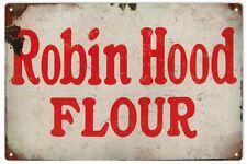 Robin Hood Flour Reproduction Advertisement Sign