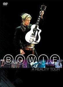 DAVID BOWIE A Reality Tour DVD BRAND NEW PAL Region ALL