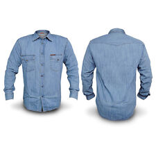 CAMICIA Jeans Uomo CARRERA Art.205 Regular Denim Tg S M L XL XXL 3XL DD