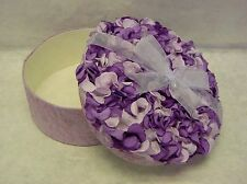 Large Round Shape Paper Hydrangea Pedals Flower Gift Box Party Wedding Favor