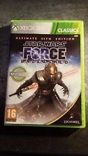 Star Wars: The Force Unleashed - Ultimate Sith Edition Xbox 360 PAL REGION FREE