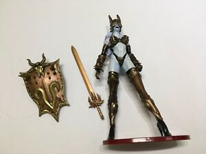 1 NEW 1999 Lady Death Toyfare Exclusive Wizard Bronze Age Action Figure