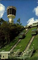 Horseshoe Falls Canada vintage postcard ~1960/70 Incline Railway Heritage Tower