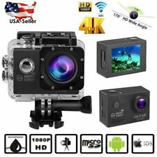 Pro 4K Action Camera WiFi HD Waterproof Sports Camcorder Underwater DV Recorder