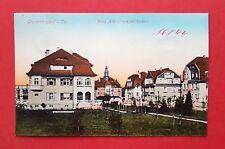 AK GROßRÖHRSDORF um 1910 König Albertstrasse mit Rathaus    ( 37585