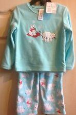 Carters kids pyjamas polaire pyjama ensemble 2 pièces pour filles