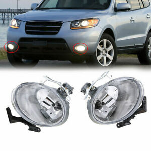 Fit For Hyundai Santa Fe 2007 2008 2009 Fog Light LH+RH Lamp Assembly