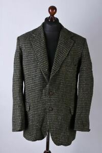 Harris Tweed Vintage Blazer Jacket Size L / UK42 / EU52 / IT52