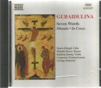 Sofia Gubaidulina - Seven Words / Silenzio / In Croce - Naxos CD