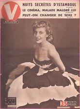 ▬►V MAGAZINE 371 de 1951 PIN UP ANOUK FERJAC_LES 7 PIN UP DE SUÈDE