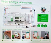 Kit contrôle multifonction (connexion avec smartphone) TEC1ECLR Schneider