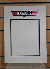 Top Gun film vinyl logo picture photo mount