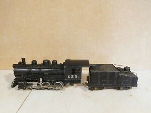 American Flyer 429 Steam Engine and Tender O Scale 3 Rail