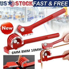 New listing Mini Pipe Bender 180° 6mm 8mm and 10mm Copper Tube Bending Tool Brake Fuel Pipe