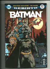 BATMAN REBIRTH 1 (PORT GRATUIT/BD SUPPLEMENTAIRE) NIGHTWING URBAN DC COMICS 2017