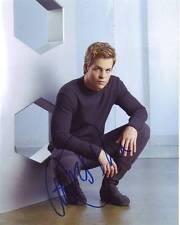 CHRIS PINE Signed JAMES T. KIRK STAR TREK Photo w/ Hologram COA