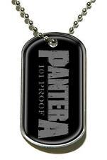 """Pantera """" Logo """" Dog Tag Chaîne 200624 #"""