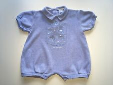 """💙 BABY BOYS DESIGNER """"ABSORBA"""" ALL-IN-ONE, AGE 0-3 MONTHS, VGC 💙"""