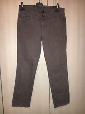Pantaloni Benetton Jeans Da Donna Taglia 44 Grigi