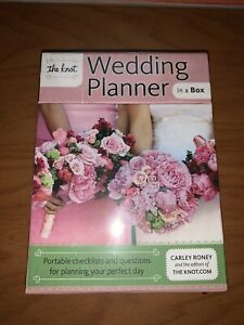 The Knot Wedding Planner in a Box Portable Checklists and Questions For Wedding
