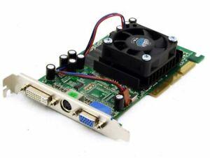 Point of View R-VGA150192N Geforce FX5500 256MB AGP DVI Video TV PC Graphic Card