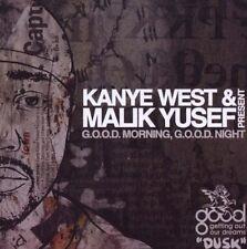 Kanye West & Malik Yusef - G.O.O.D. Morning, G.O.O.D. Night (2009)  CD  NEW