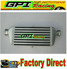 GPI Front Mount Intercooler 280 x 140 x 65 mm Bar & Plate inlet/outlet 56mm 2.2""