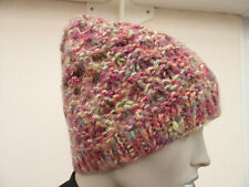 Barts - Womens Lilac / Multi Chunky Knit Beanie Hat - One Size