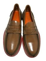 NEW, TOMMY HILFIGER COLLECTION MEN'S TAN LOAFERS, 43 10, $645