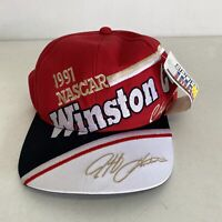 Vtg Brand New W/ Tags 1997 NASCAR Jeff Gordon Winston Cup Champion Hat Snap back
