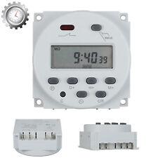 Digital LCD Zeitschaltuhr AC/DC 12V 16A programmierbar Timer Schalter Zeit DE