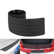 Rear Guard Bumper Protector Black Rubber Trim Cover for VW Audi BMW Chevrolet