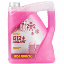 MANNOL Coolant G12+ Red Antifreeze Ready To Use Mixed Long Life 5L High Spec