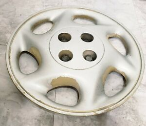 "(1) OEM 1997-1998 Saturn SL2 SW2 15"" Bolt-On Hubcap Wheel Cover #SC2 GM 21013027"