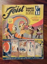 Vintage Feist dance folio #11