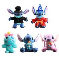 Lilo & Stitch Plush Toys Angel Scrump Stuffed Animal Doll Cuddly Kids Xmas Gift