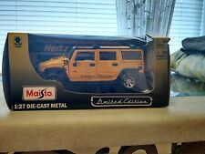 Maisto Yellow Hertz H2 Hummer 1:27 Scale Die-Cast Metal Car Limited Edition 2008
