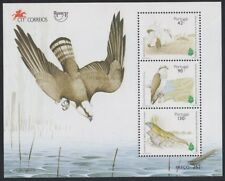 Upaep Portugal HB 108 1995 Otis tarda Pandion haliaetus pájaro bird fauna MNH