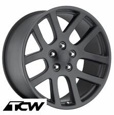 "(1) 22"" SRT10 Dodge Ram SRT-10 Style Matte Black Wheel Rim fit Ram 1500 02-17"