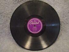 """78 RPM 10"""" Record Dave Barbour Little Boy Bop Go Blow Your Top Capitol 57-60002"""