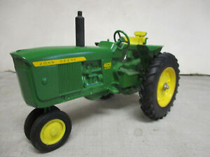 Custom John Deere Model 4020 Diesel Toy Tractor, 1/16 Scale