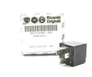 100% GENUINE  ALFA ROMEO / FIAT / LANCIA / ABARTH  New Relay 12V 50 AMP 11130287