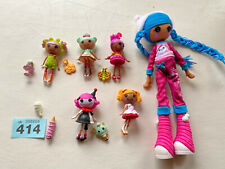 """More details for lalaloopsy doll bundle 9"""" doll & 5 3"""" dolls with accessories"""