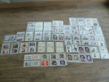 More details for joblot collection of 172 royal mail postcard stamps inc plastic folders.