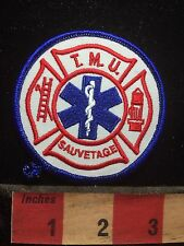 Star Of Life TMU SAUVETAGE Patch - Medical Field Related Rod of Asclepius 77G